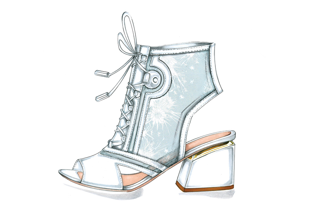 Nicholas Kirkwood Spring 2017 Shoes