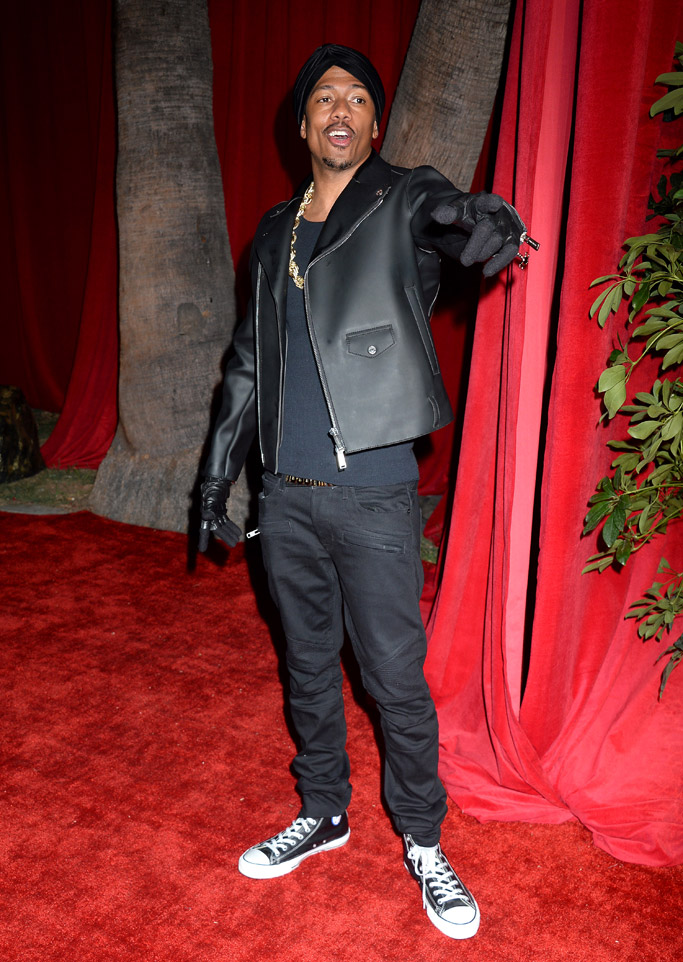 maxim hot 100 party nick cannon converse