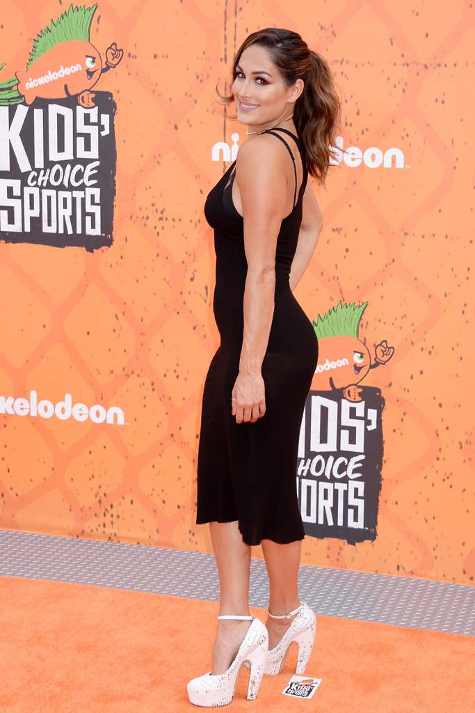 Nikki Bella Nickelodeon Kids Choice Sports Awards Red Carpet