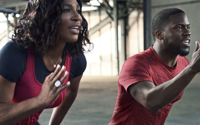 Serena Williams & Kevin Hart