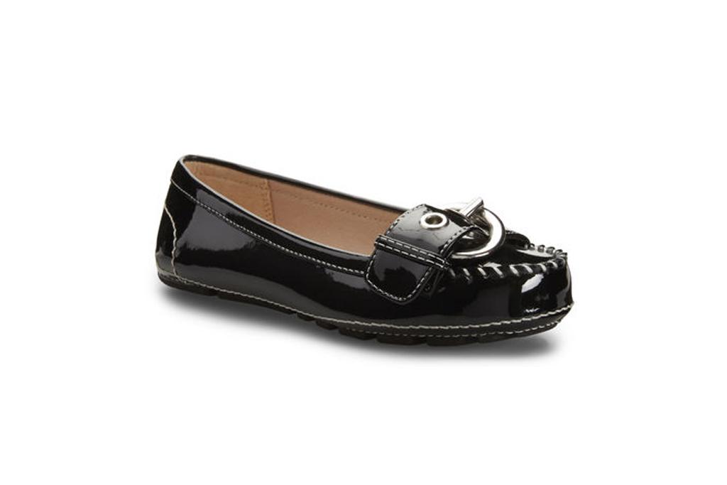 nine west girls loafers