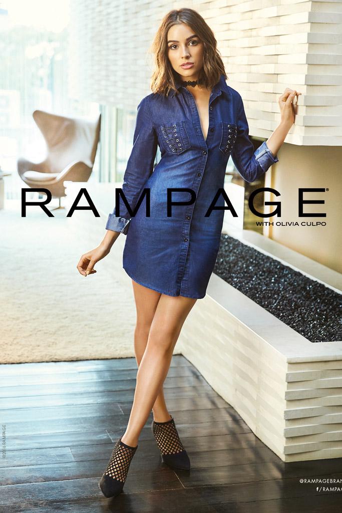 Rampage fall '16 starring Olivia Culpo