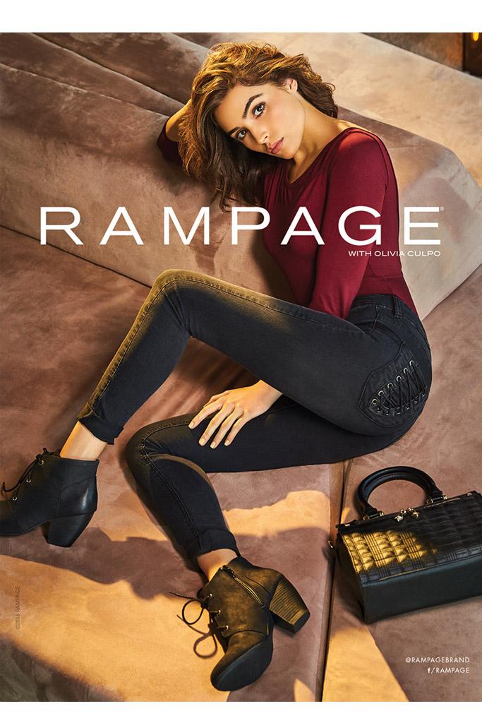 Olivia Culpo for Rampage