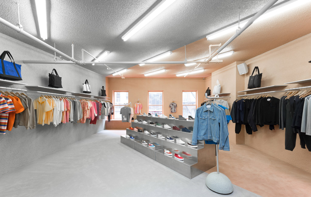 opening ceremony club usa shop in shop vans