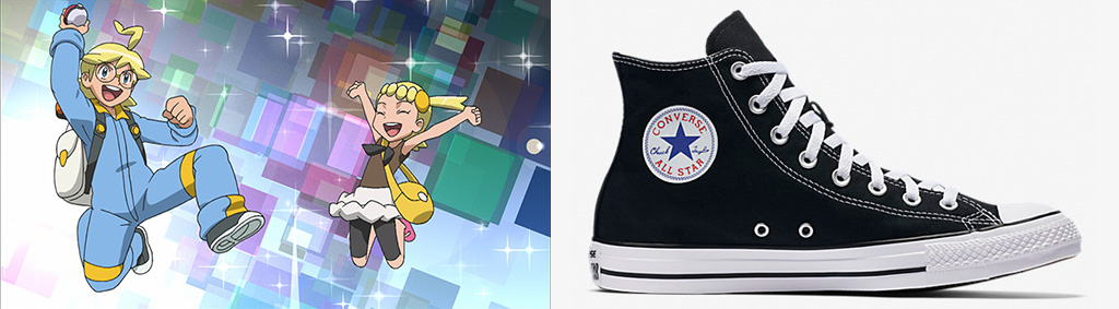 Pokemon Go Characters Shoes
