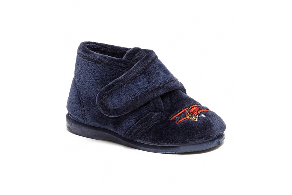Prince George Shoes Trotters Little Boston Plane Slippers