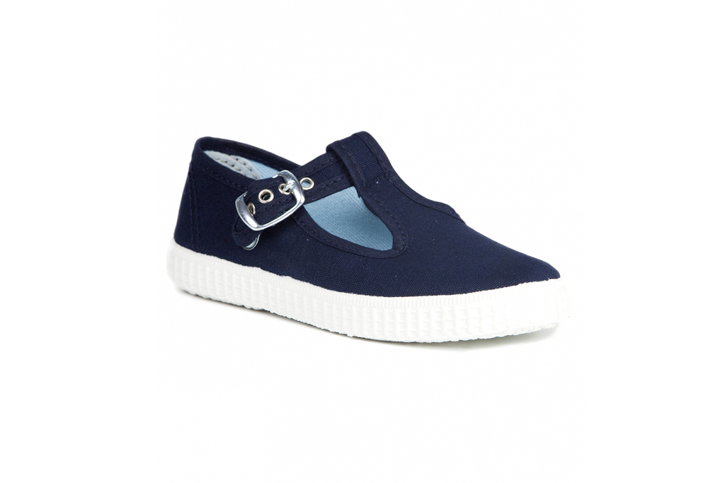 Prince George Shoes Trotters Hampton Classics Navy Shoes