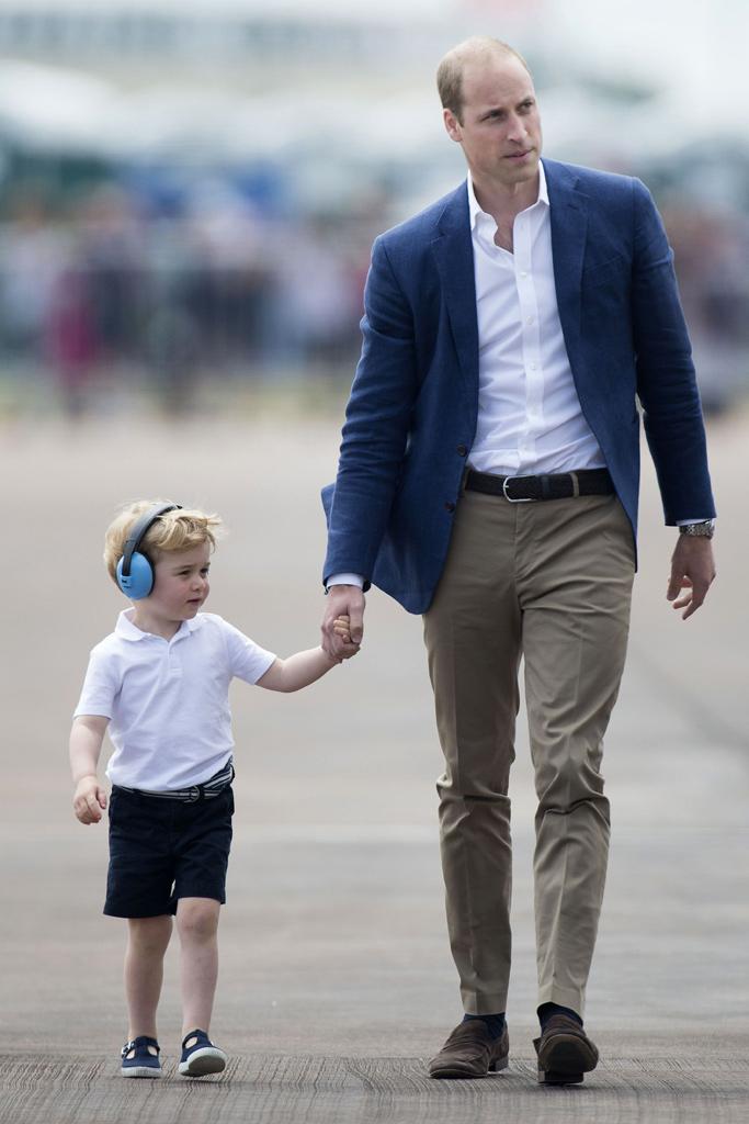 Prince William Prince George RAF