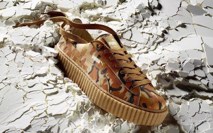 Puma Fenty Rihanna Creepers Camo Release