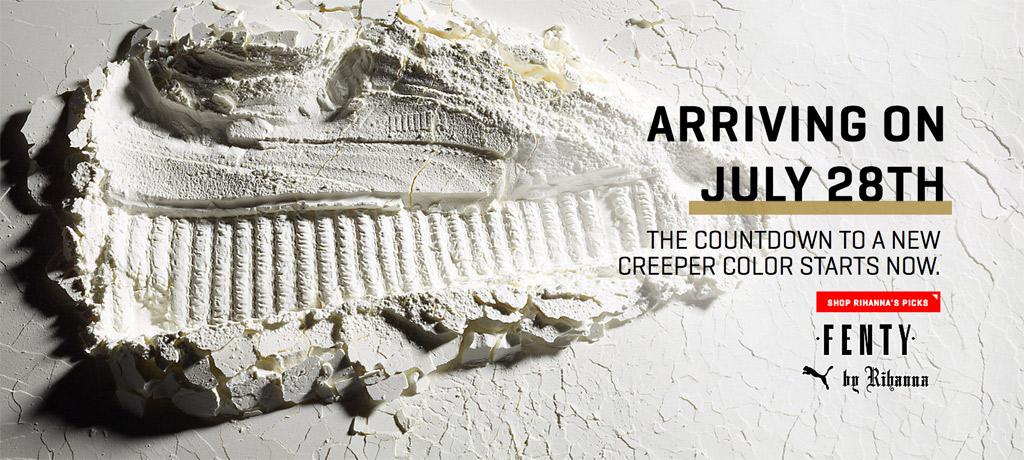 Puma by Rihanna Creepers Release July 28