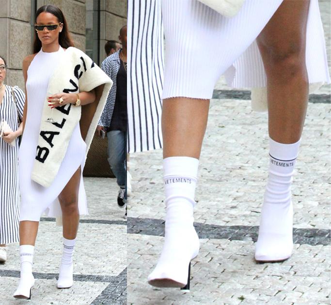 Rihanna Vetements Boots