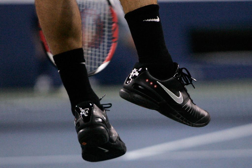Roger Federer US Open 2007 Shoes