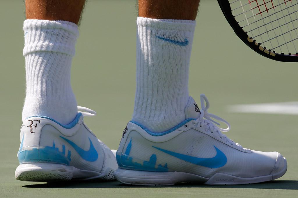 Roger Federer US Open 2010 Shoes