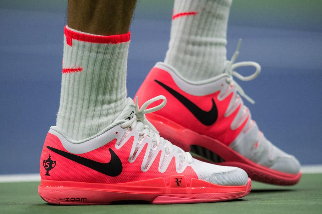 Roger Federer's Grand Slam Shoe Style