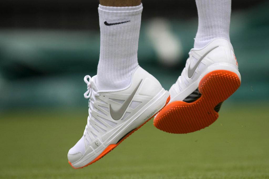Roger Federer Wimbledon 2013 Shoes