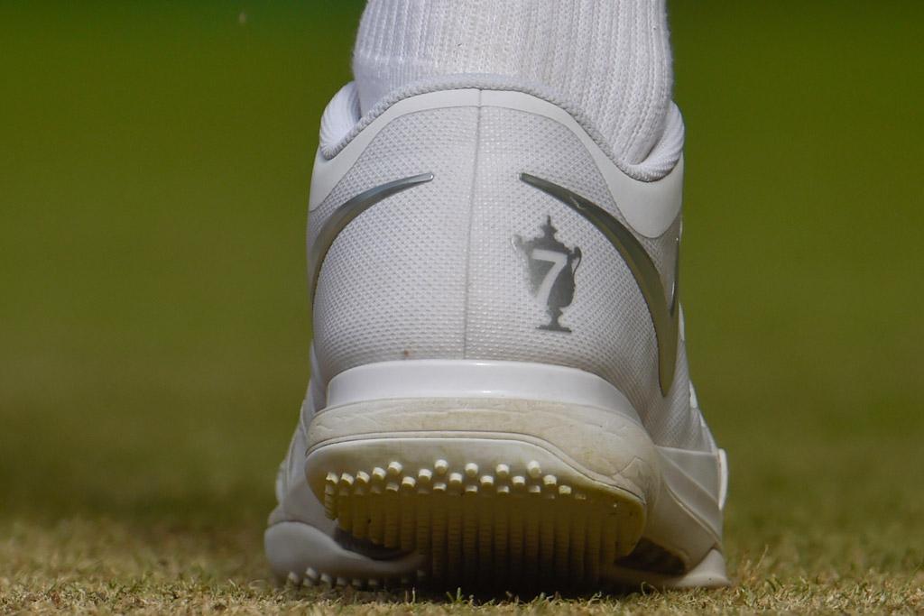 Roger Federer Wimbledon 2015 Shoes