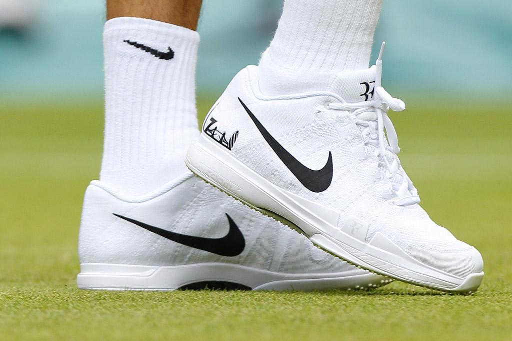 Roger Federer Wimbledon 2016 Shoes