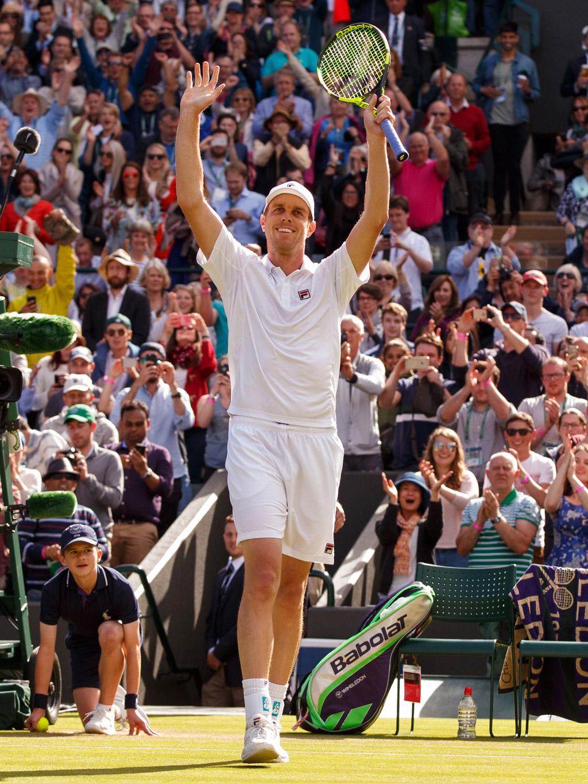 fila Sam Querrey Novak Djokovic wimbledon