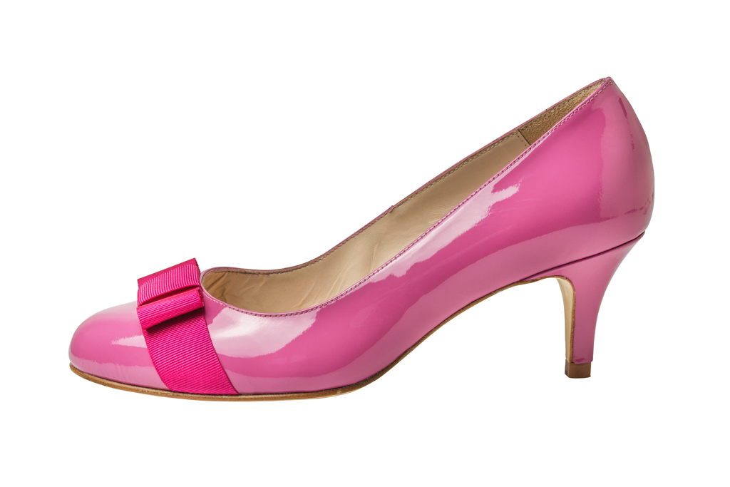 sargasso and grey pink pump