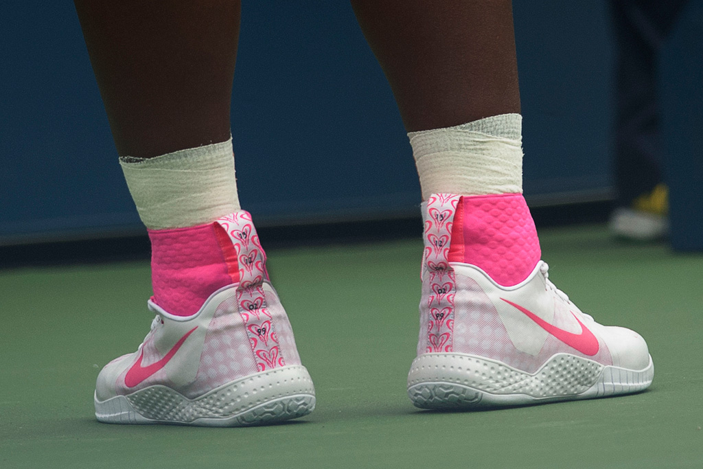 Serena Williams US Open 2014 Shoes