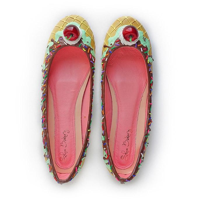 shoe bakery ice cream shoes
