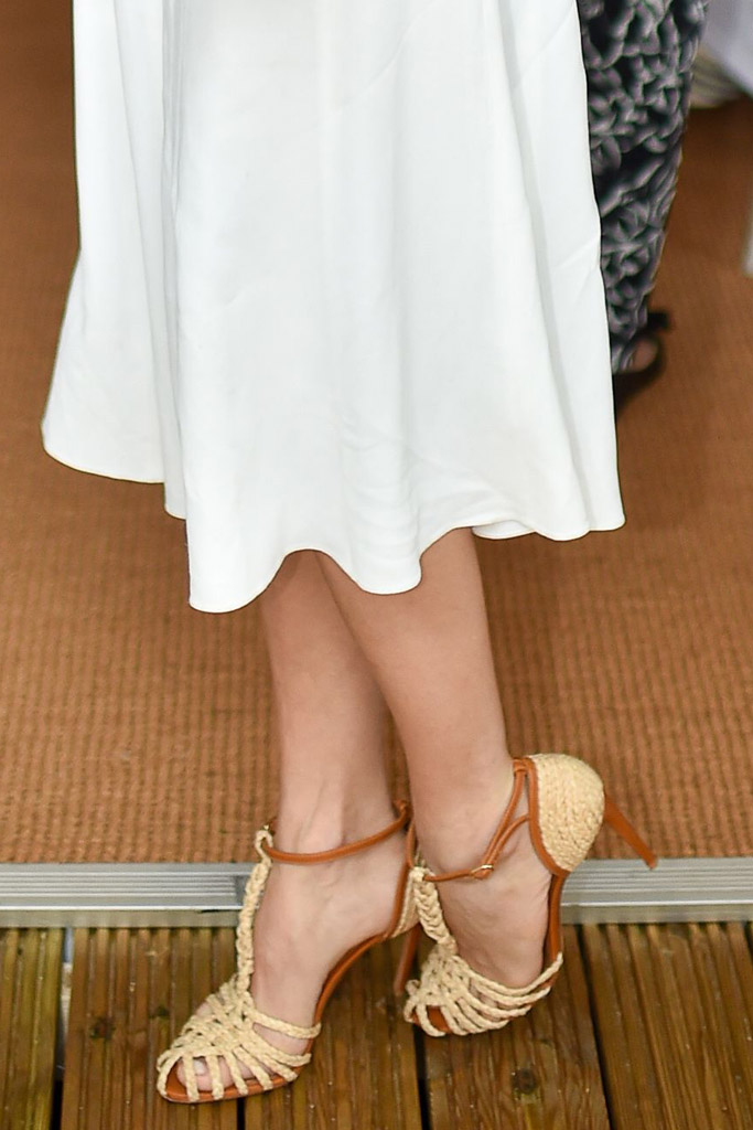 Sienna Miller Celebrity Statement Shoes July 2016