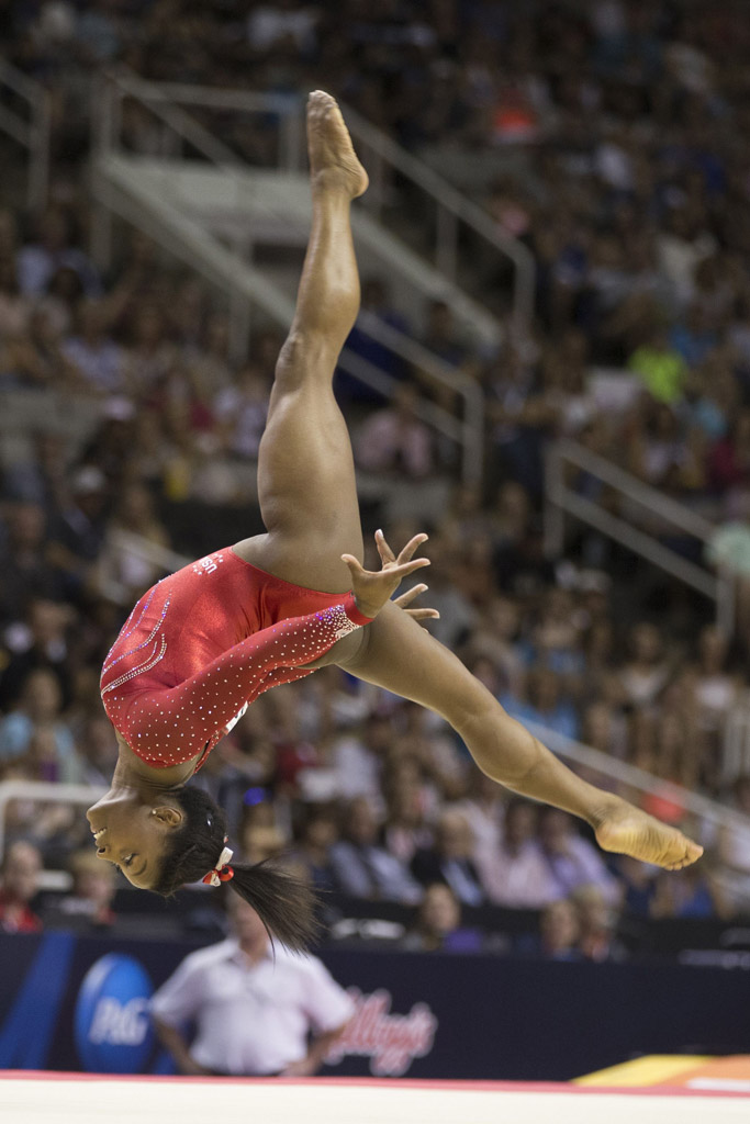 Gymnast Simone Biles Rio Olympics 2016