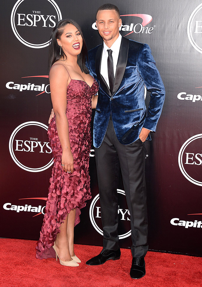 Stephen Curry ESPYs 2016 Red Carpet