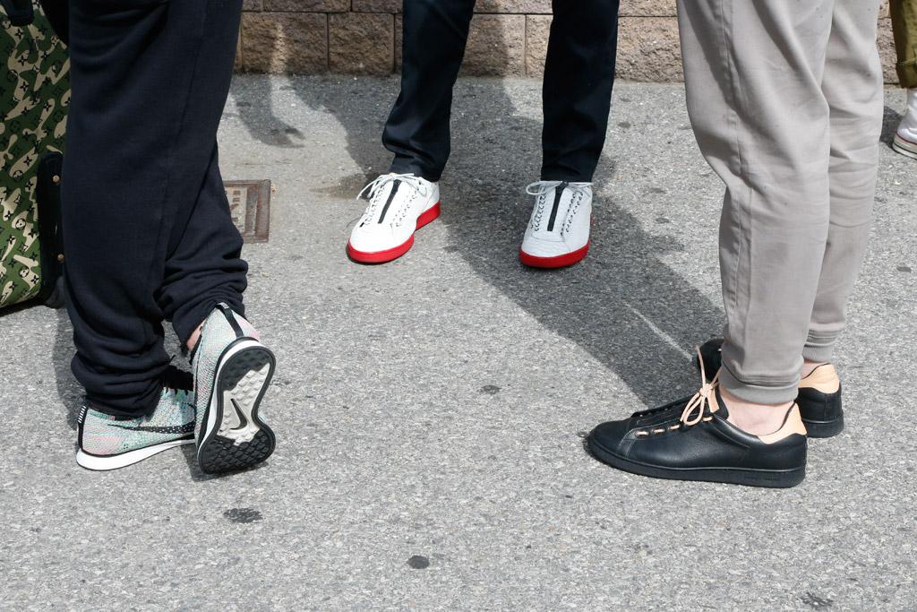 Street Style Fashion Men NYC Liberty Fair