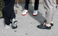 Street Style Fashion Men NYC Liberty