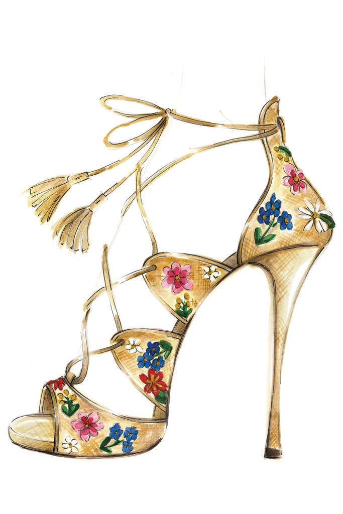Tabitha Simmons Spring 2017 Shoes