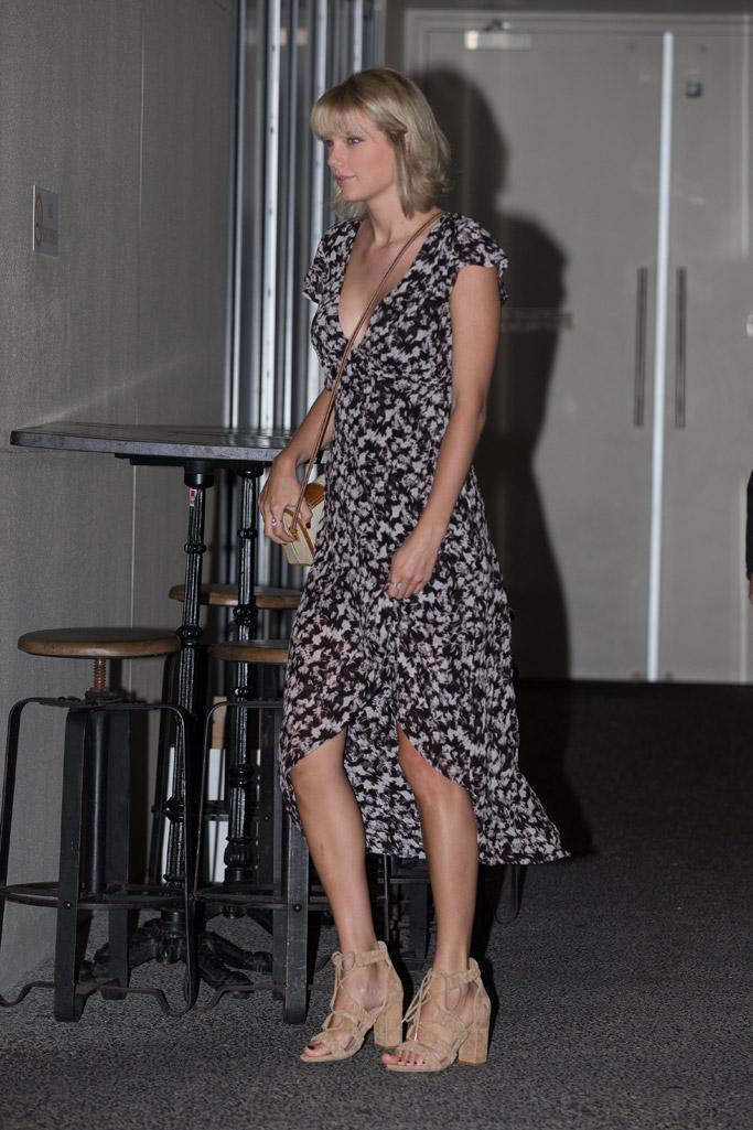 Taylor Swift Celebrity Statement Shoes July 2016