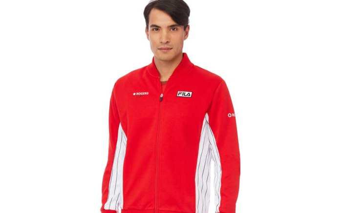 fila tennis canada uniform