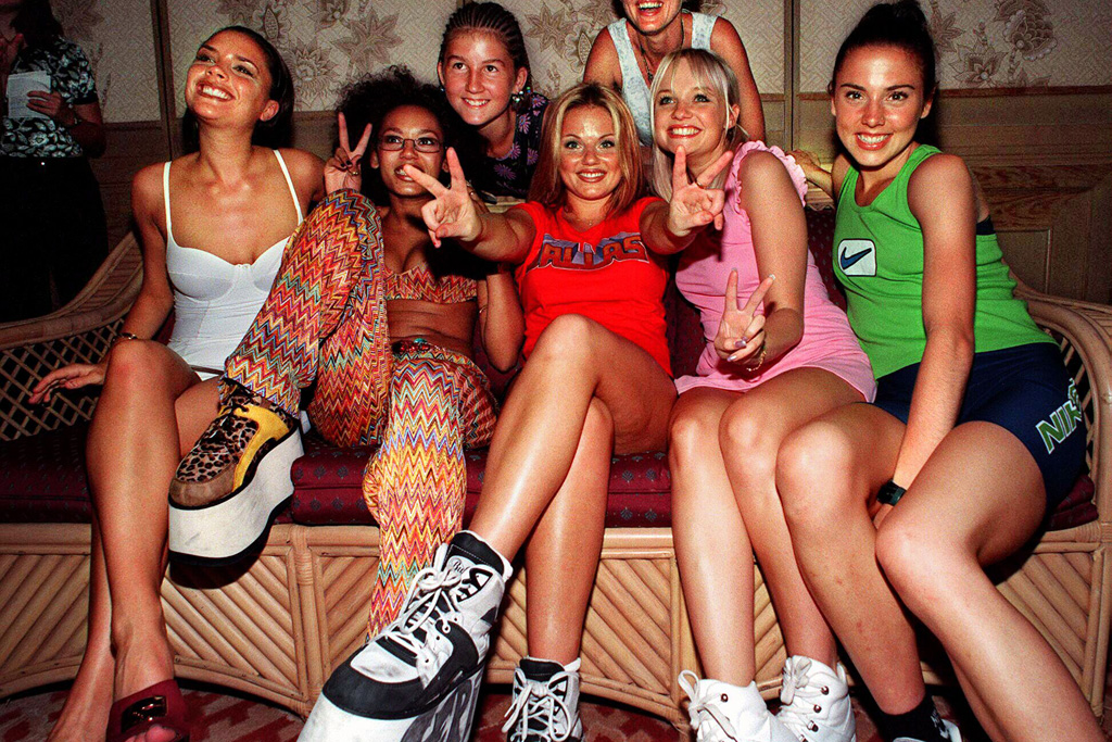 The Spice Girls Platform Boots Fashion Style