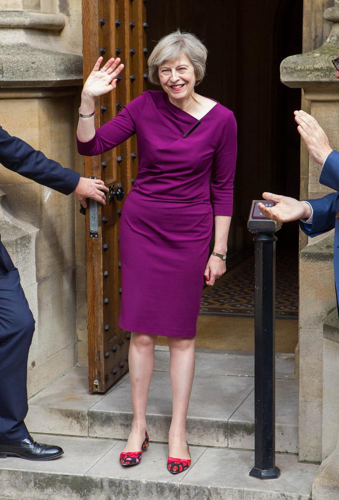 Theresa May Shoe Style Fashion