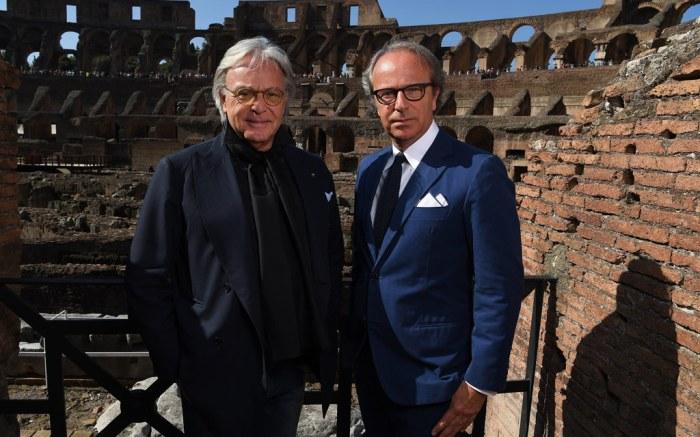 Diego Andrea Della Valle Tod's Colosseum Restoration