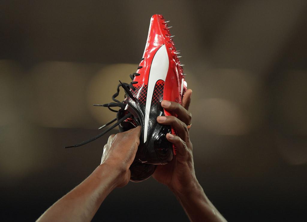 usain bolt puma sneakers rio anniversary games london