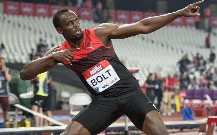 usain bolt puma sneakers rio anniversary games london IAAF Diamond League Athletics