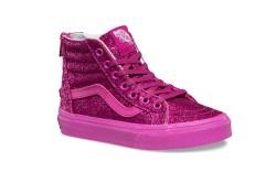 vans pink glitter sneakers