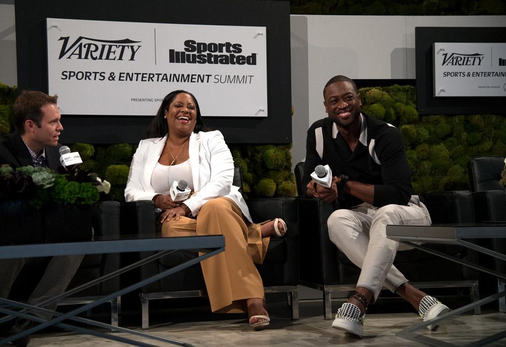 Lisa Joseph-Metelus dwyane wade sports summit variety