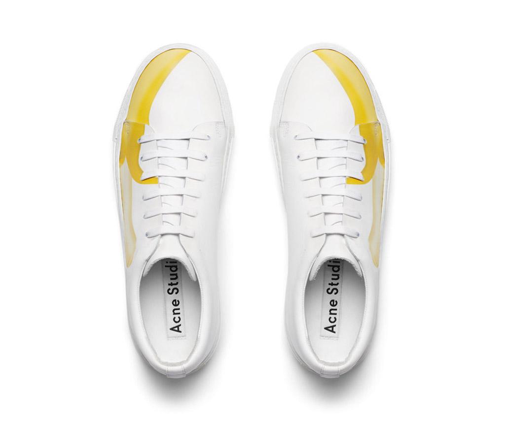 acne studios emoji sneakers banana