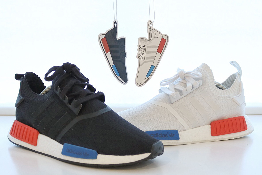 Adidas NMD air fresheners are now available.