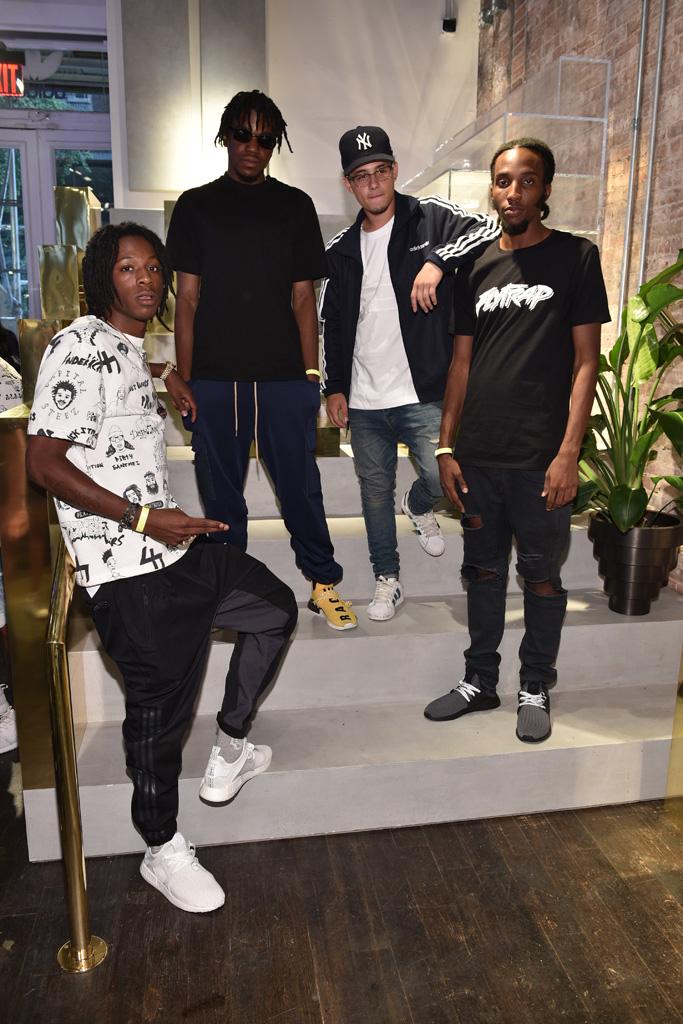 Adidas Originals Soho NYC Flagship Joey Badass Kirk Knight Nyck Caution CJ Fly