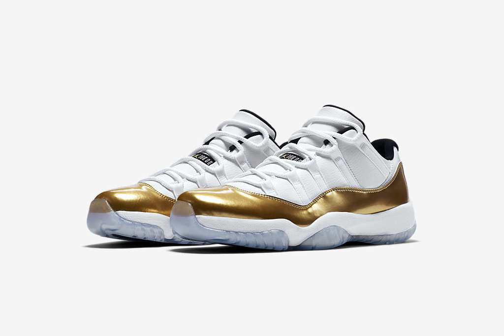 "Air Jordan XI Low ""Metallic Gold"""