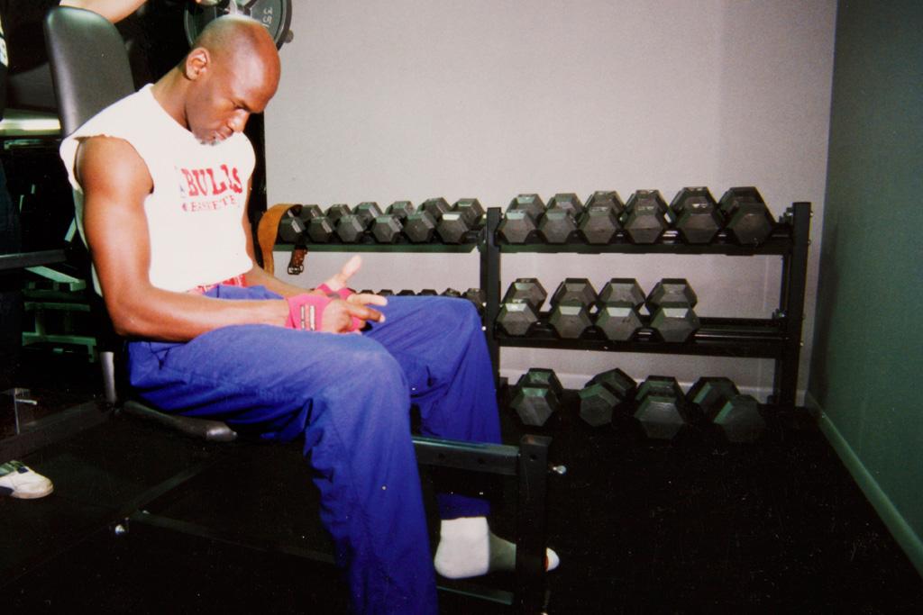 Michael Jordan Breakfast Club Training