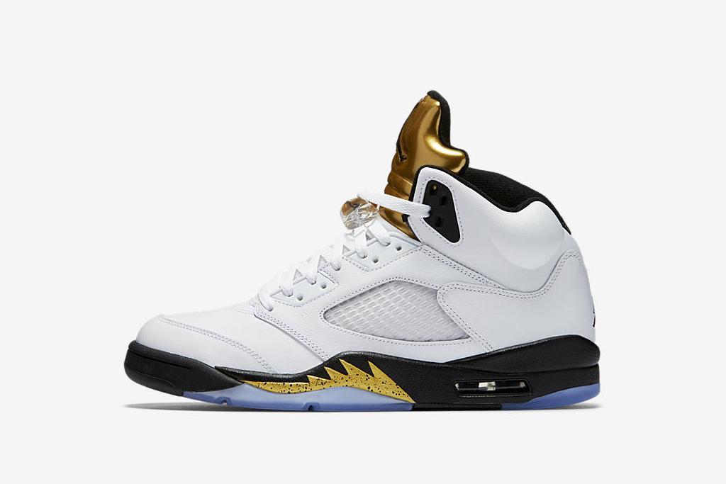 "Air Jordan V ""Gold Medal"""