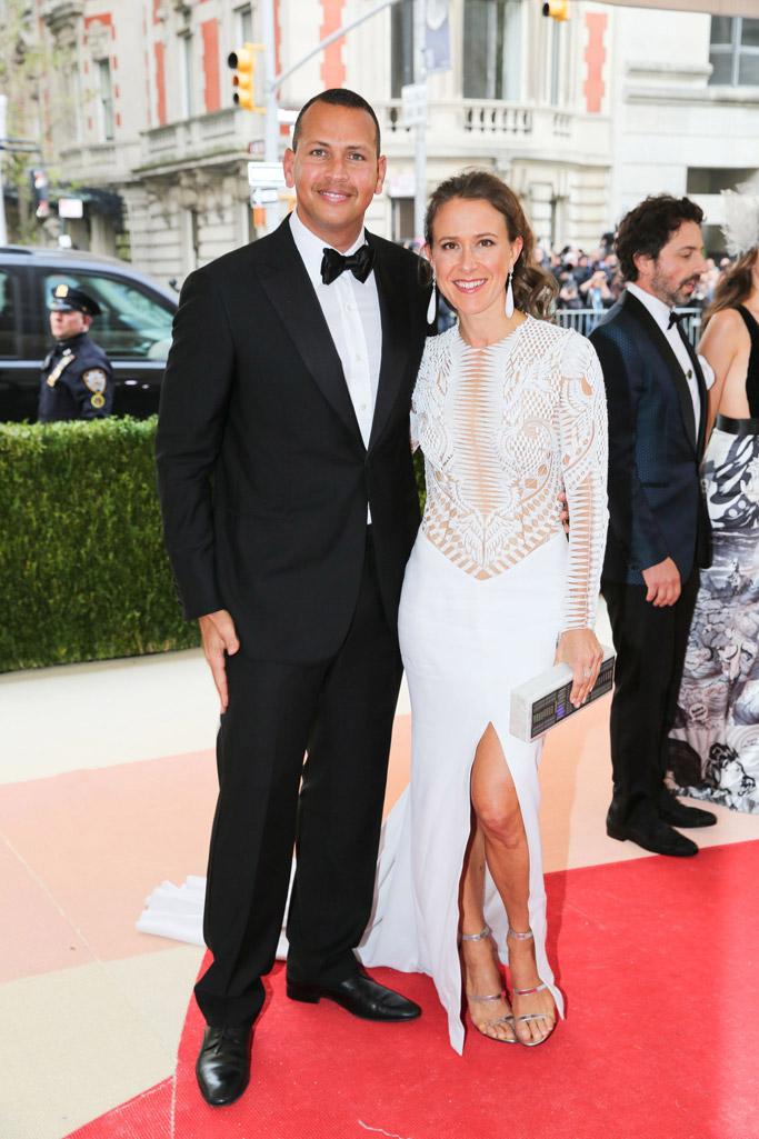 Alex Rodriguez Anne Wojcicki Met Gala 2016 new york yankees retirement
