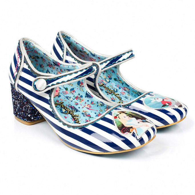 irregular choice disney alice in wonderland shoes