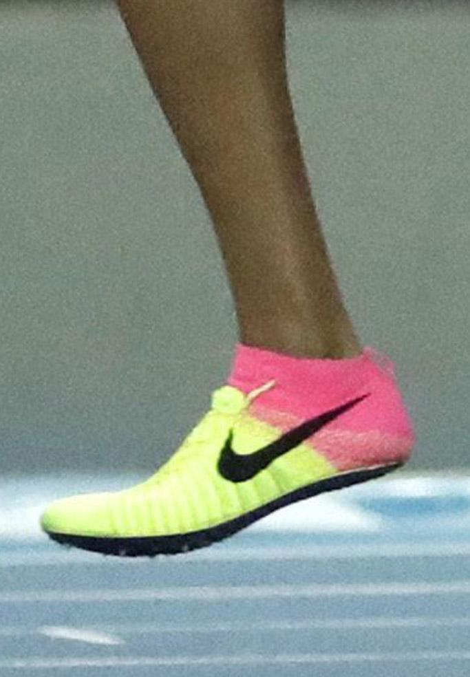 Allyson Felix english gardner nike team usa rio olympics sneakers track gold medal