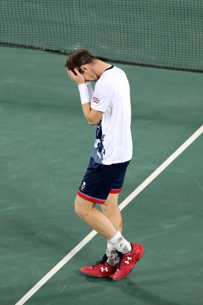 andy murray under armour tennis rio olympics great britain gold